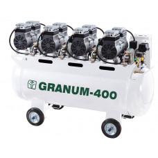 Компрессор безмасляный Granum-400 с осушителем