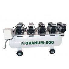 Компрессор безмасляный Granum-500 с осушителем