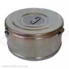 Коробка стерилизационная круглая КСК-3