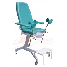 Кресло гинекологическое c механическим приводом КГ-1М