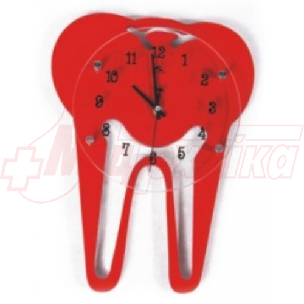 Часы настенные в виде зуба ZB-013