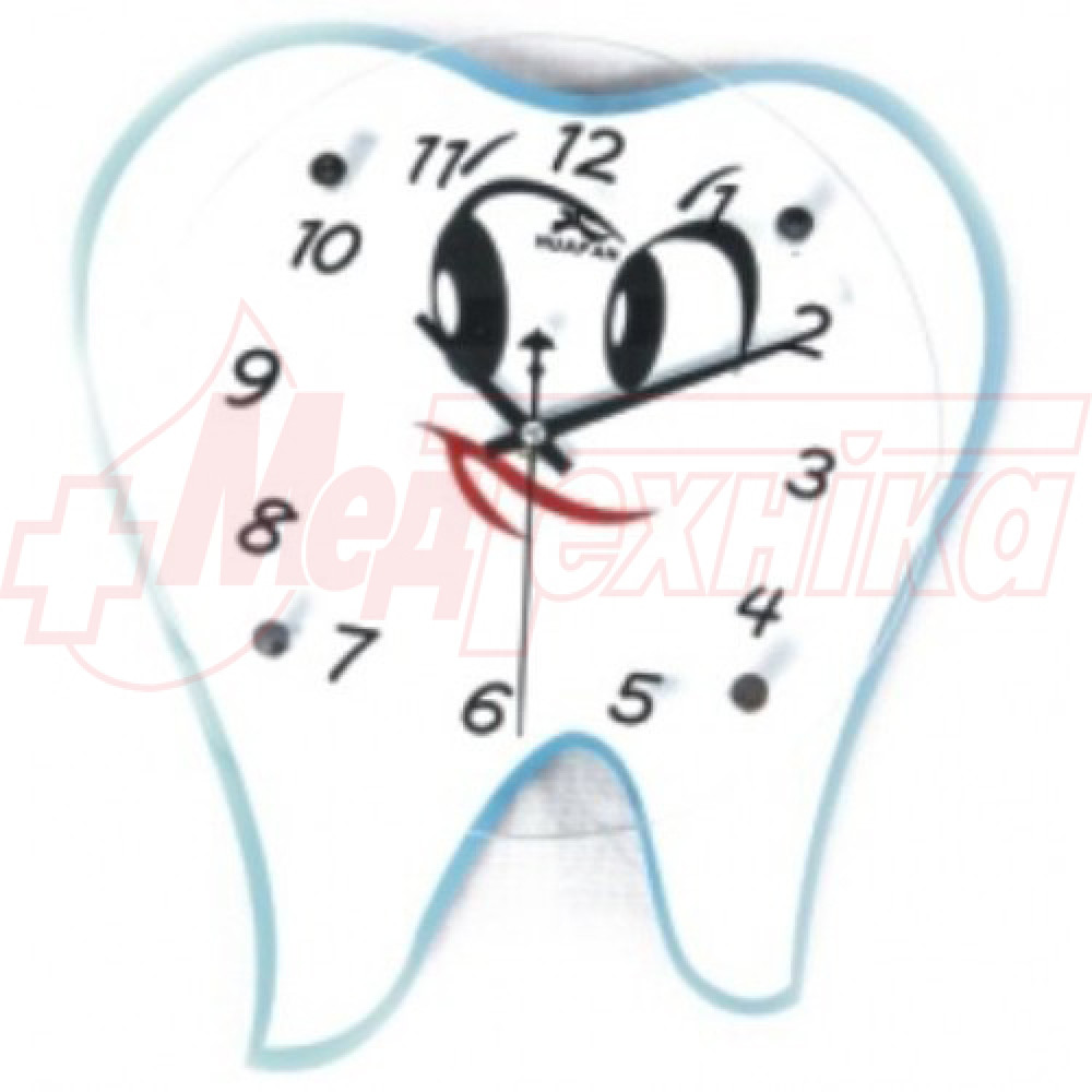 Часы настенные в виде зуба ZB-007