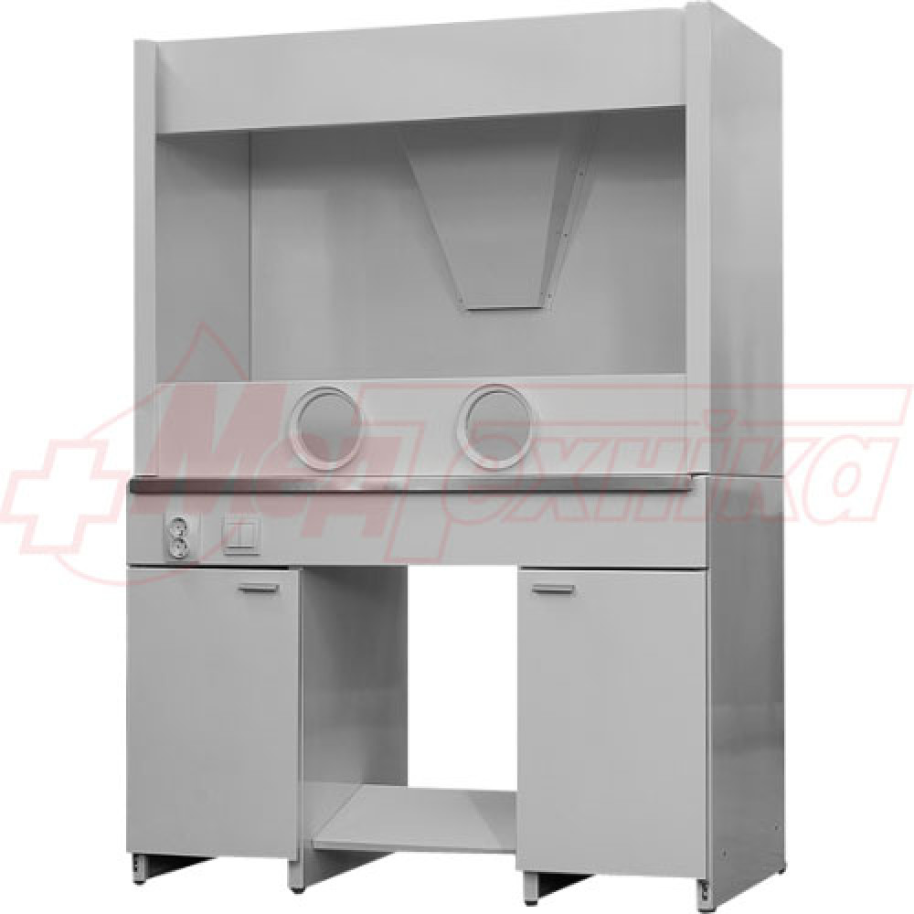 Шкаф вытяжной ШВР с керамической столешницей и мойкой