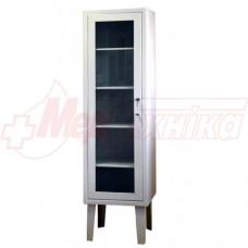 Шкаф медицинский 1-дверный (застекленный)