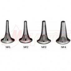 Воронка ушная никелированная (№1-4)