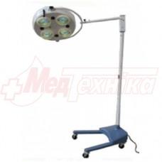 Светильник ветеринарный хирургический бестеневой  DL-734 М (передвижной)
