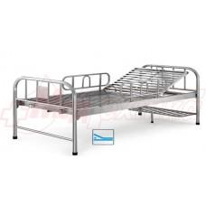 Кровать больничная  с ручным приводом МS101