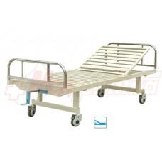 Кровать больничная с ручным приводом М105