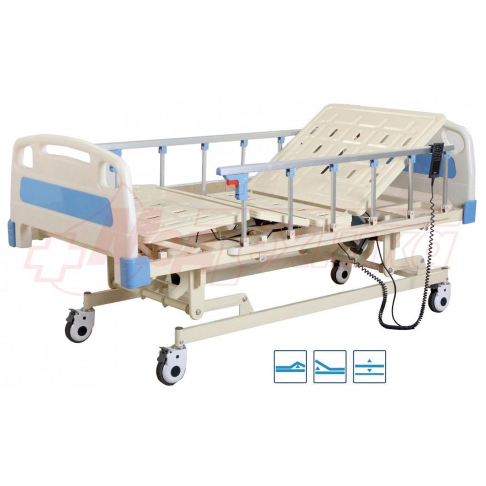Кровать больничная с электрическим приводом Р301 3-функциональная
