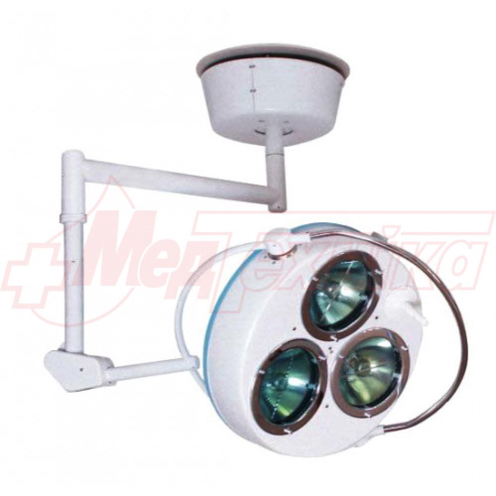 Светильник операционный бестеневой СР-3  (3-х рефлекторный)