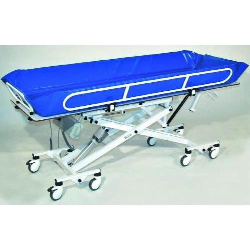 Тележка для гигиенического ухода за тяжелобольными с бассейном для мытья
