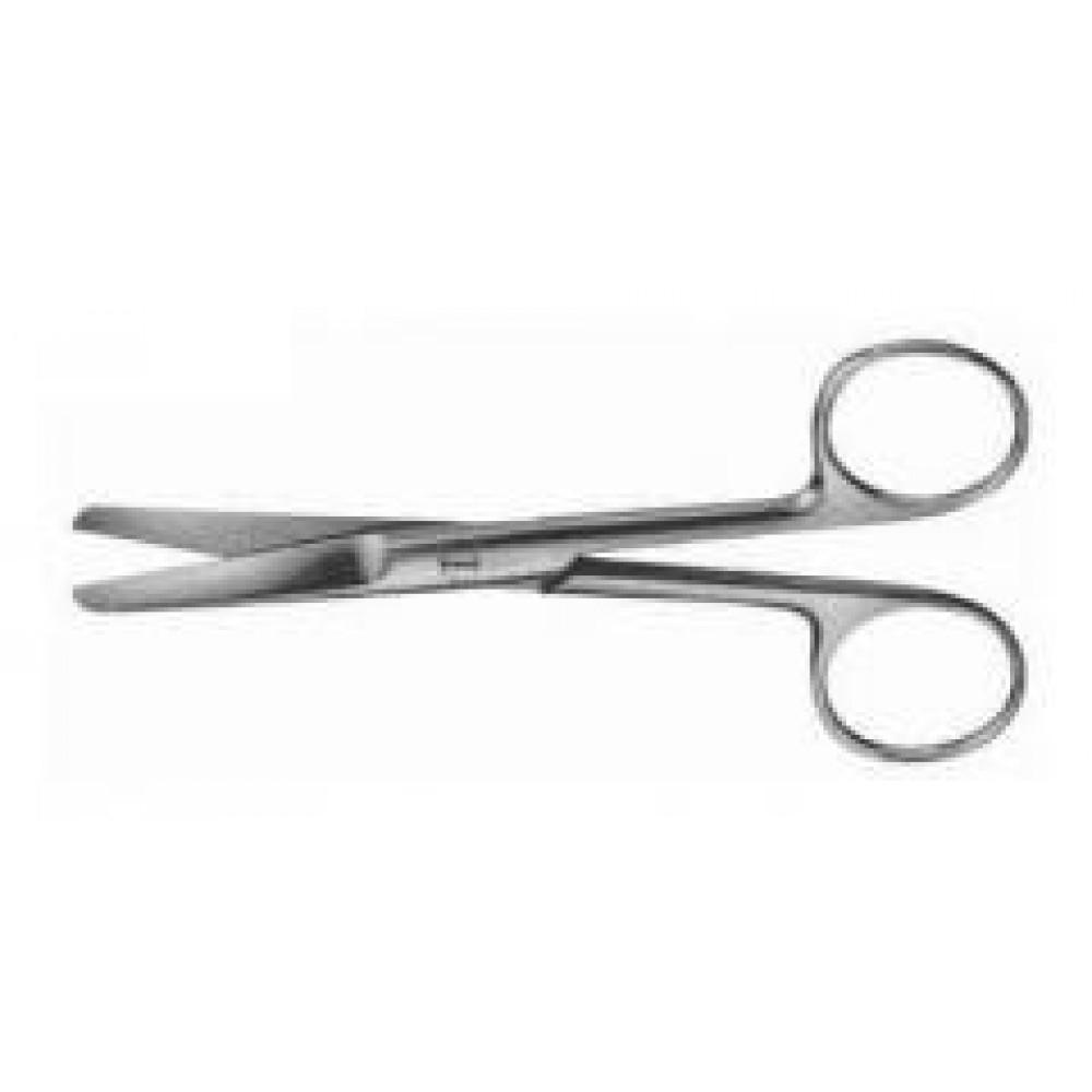 Ножницы тупокон. прямые L=170 мм