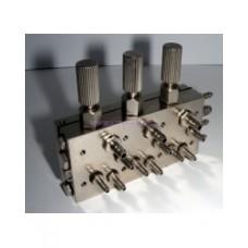 3-х канальный мембранный клапан № НТ 083-1
