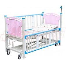 Кровать больничная с ручным приводом M203 (детская)