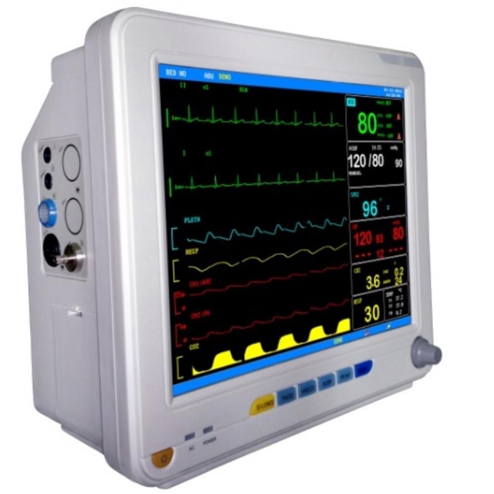 Система мониторинга физиологических показателей (ЭКГ, ЧД, ЧСС, пульсоксиметрия) КМ9000C